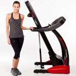 folded treadmill